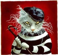 Will Bullas - the cat burglar... - LIMITED EDITION PRINT