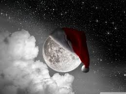 Image result for christmas moon