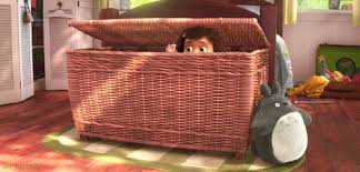 Image result for kid hiding gif
