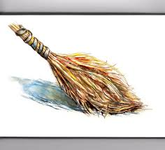 Image result for magic broom painting